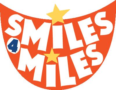 Smiles 4 Miles logo