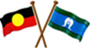 Aboriginal and Torres Strait Islander peoples flags