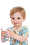 Drink plenty of tap water for healthy teeth
