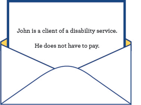 You may need a letter from your disability service.