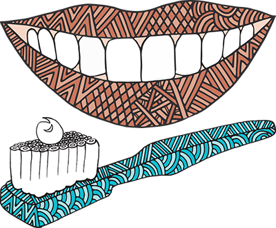 Bigger better smiles illustration
