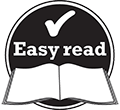 easy read icon
