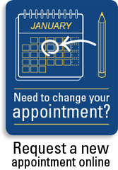 Change your dental appointment at RDHM