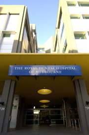 Exterior of The Royal Dental Hospital of Melbourne, 2003-