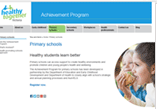 Achievement program website thumb image