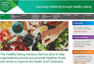 Healthy together advisory service