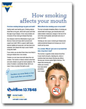 How smoking affects your mouth