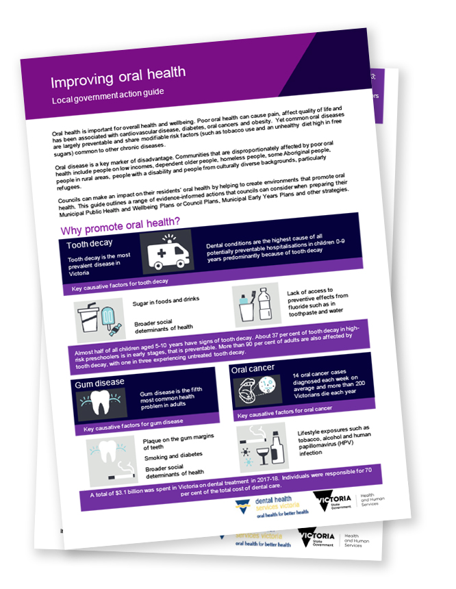 local government action guide - improving oral health opens in new browser window
