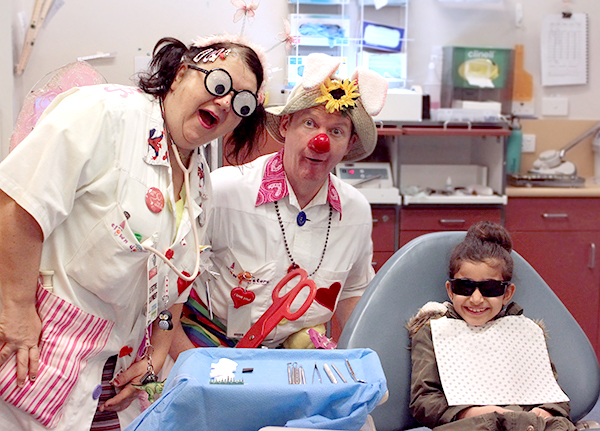 Clown Doctors at the Royal Dental Hospital of Melbourne