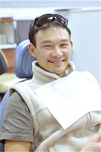 male patient general dental